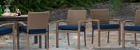 Portofino® Repose 8pk Dining Chairs - Laguna Blue