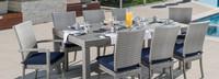 Cannes™ 9 Piece Dining Set - Blue