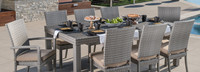 Cannes™ 9 Piece Dining Set - Gray