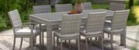 Cannes™ 9 Piece Dining Set - Bliss Linen