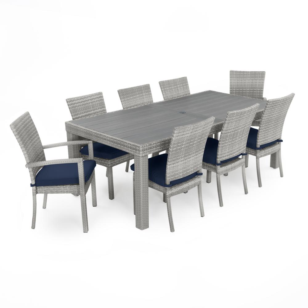 ... Cannes™ Woven Dining Set   Navy Blue ...