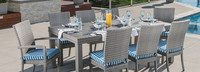 Cannes™ Woven Dining Set - Regatta Blue