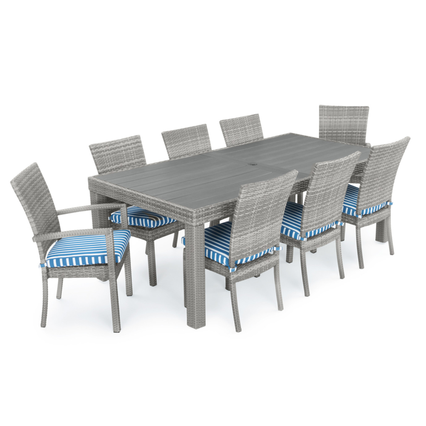 Cannes™ Woven Dining Set - Regatta Blue