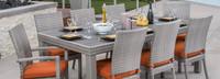 Cannes™ Woven Dining Set - Tikka Orange
