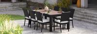 Deco™ 9 Piece Dining Set - Bliss Linen