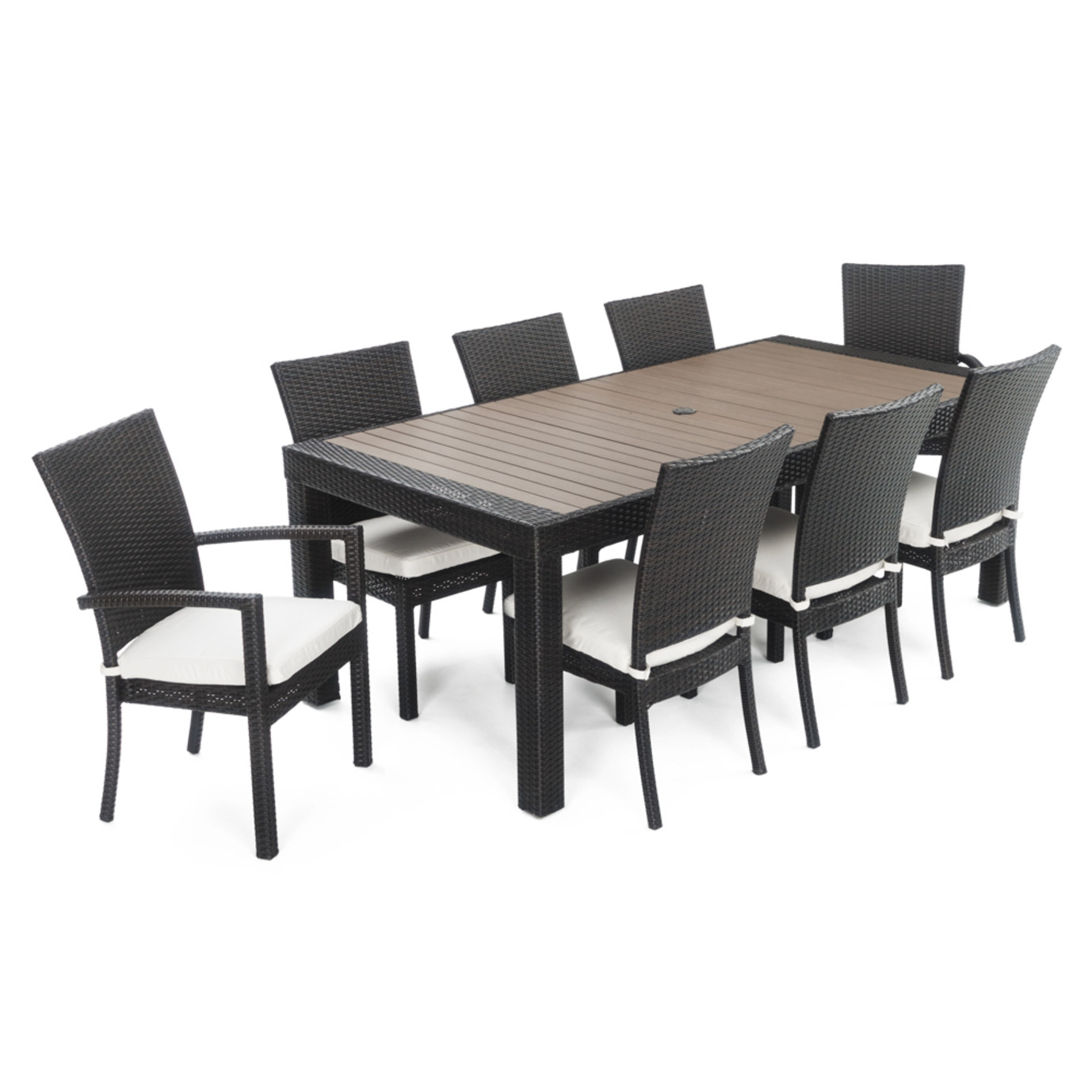 Deco™ 9 Piece Dining Set - Moroccan Cream