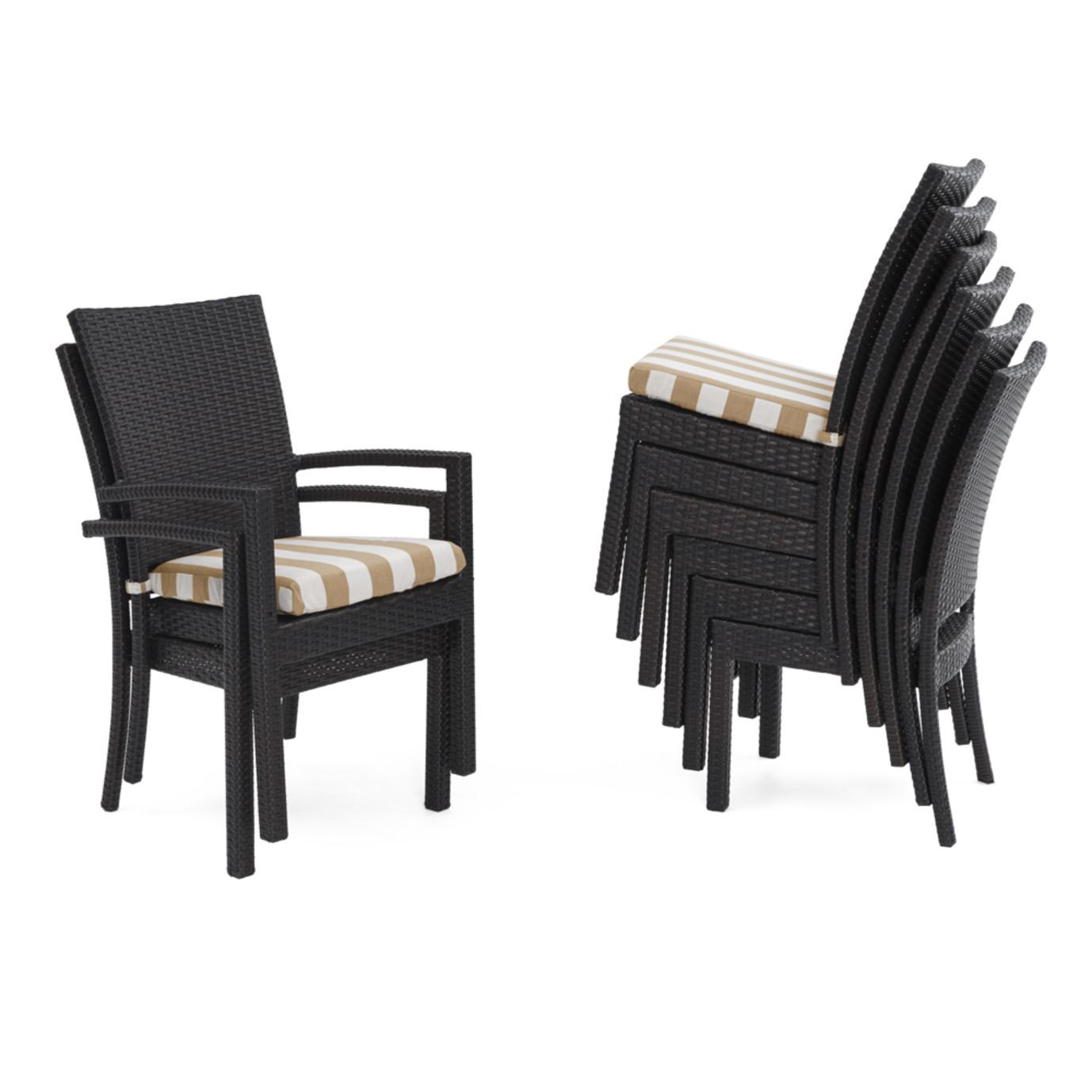 Deco™ 9pc Dining Set - Maxim Beige Stripe