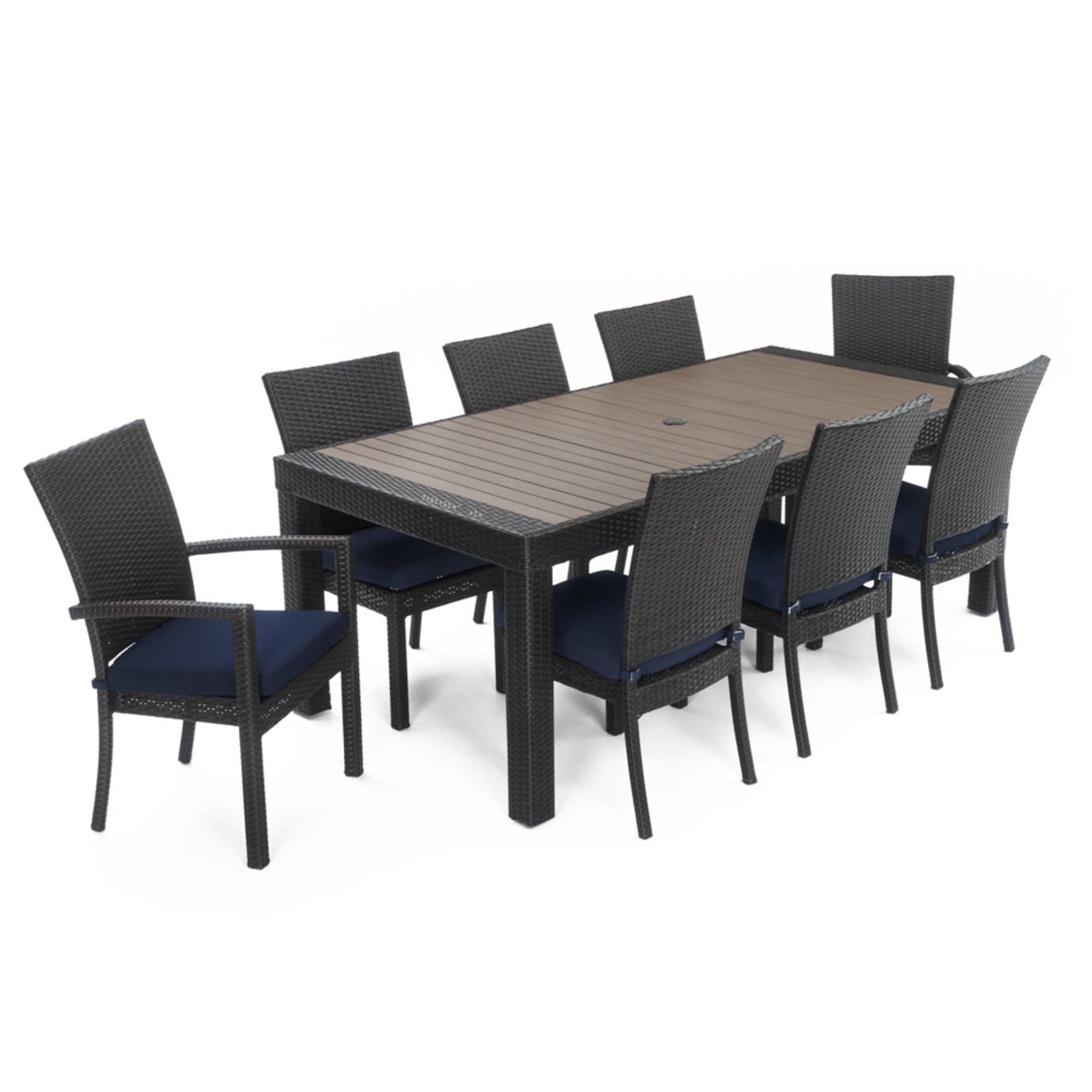 Deco™ 9 Piece Dining Set - Navy Blue