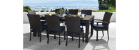 Deco™ 9 Piece Dining Set - Spa Blue