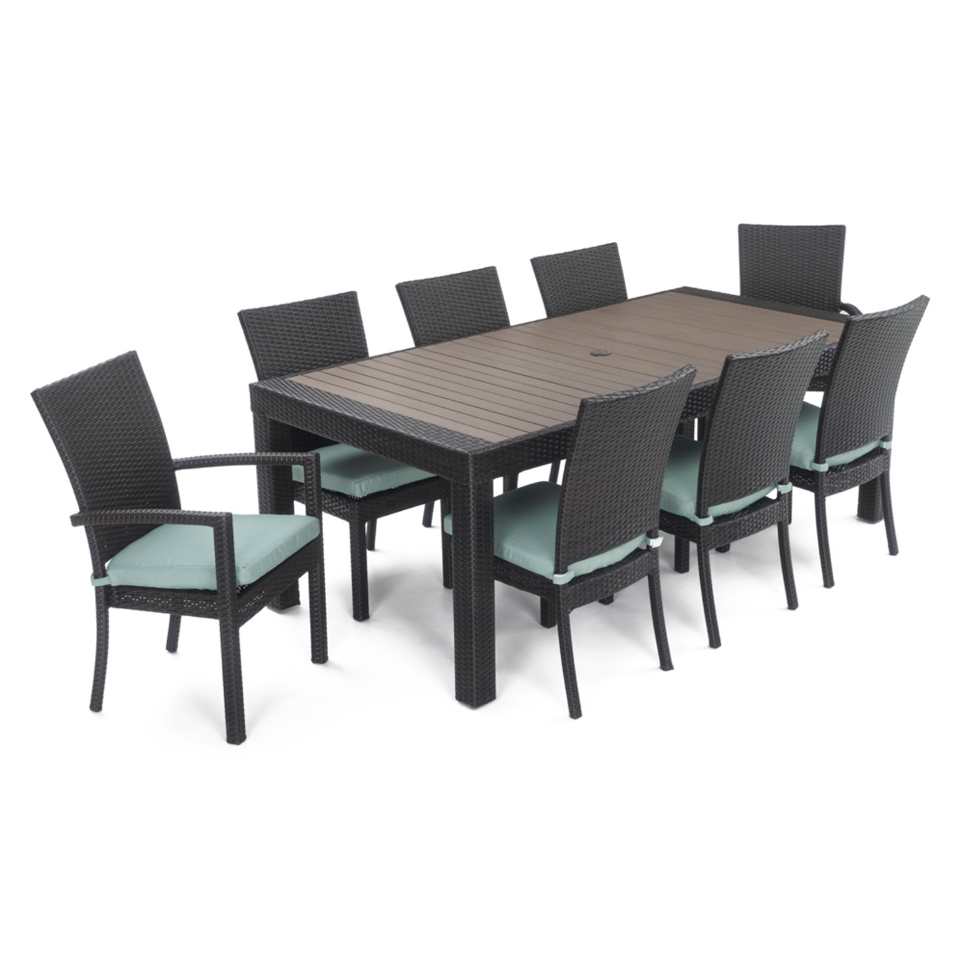 Deco™ 9pc Dining Set - Spa Blue