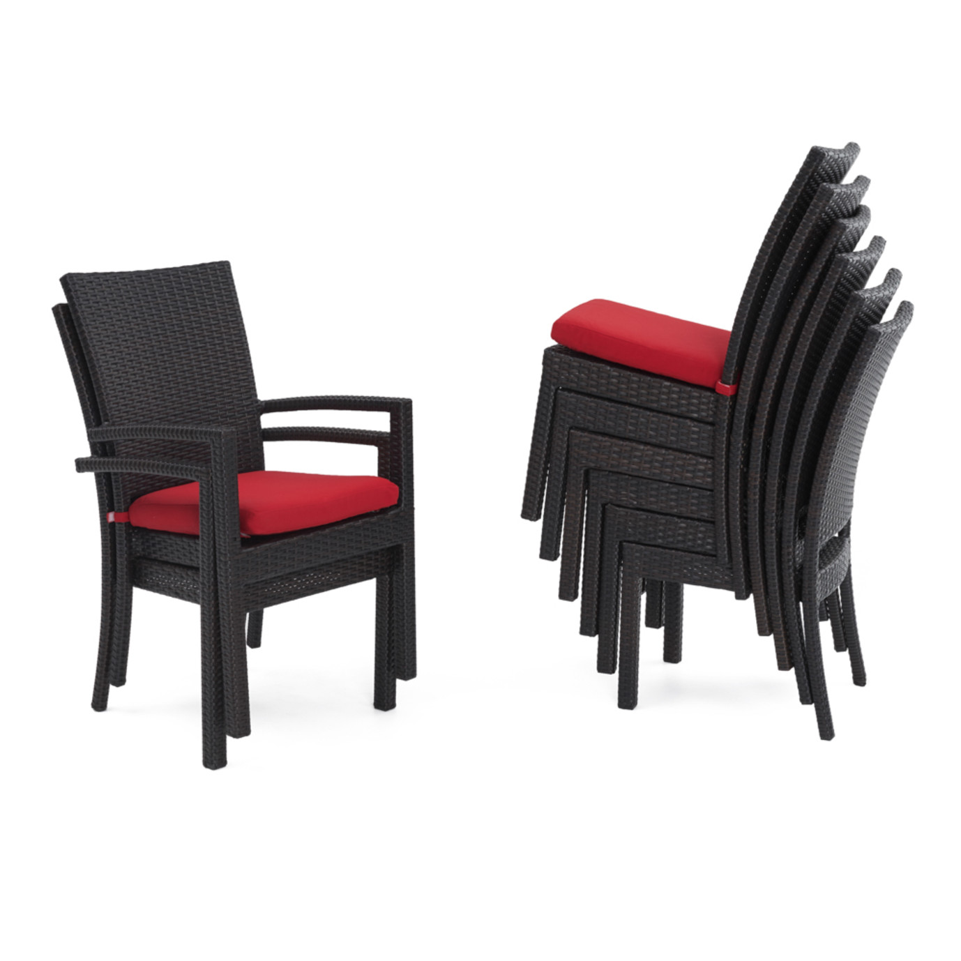 Deco™ 9pc Dining Set - Sunset Red