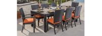 Deco™ 9 Piece Dining Set - Tikka Orange