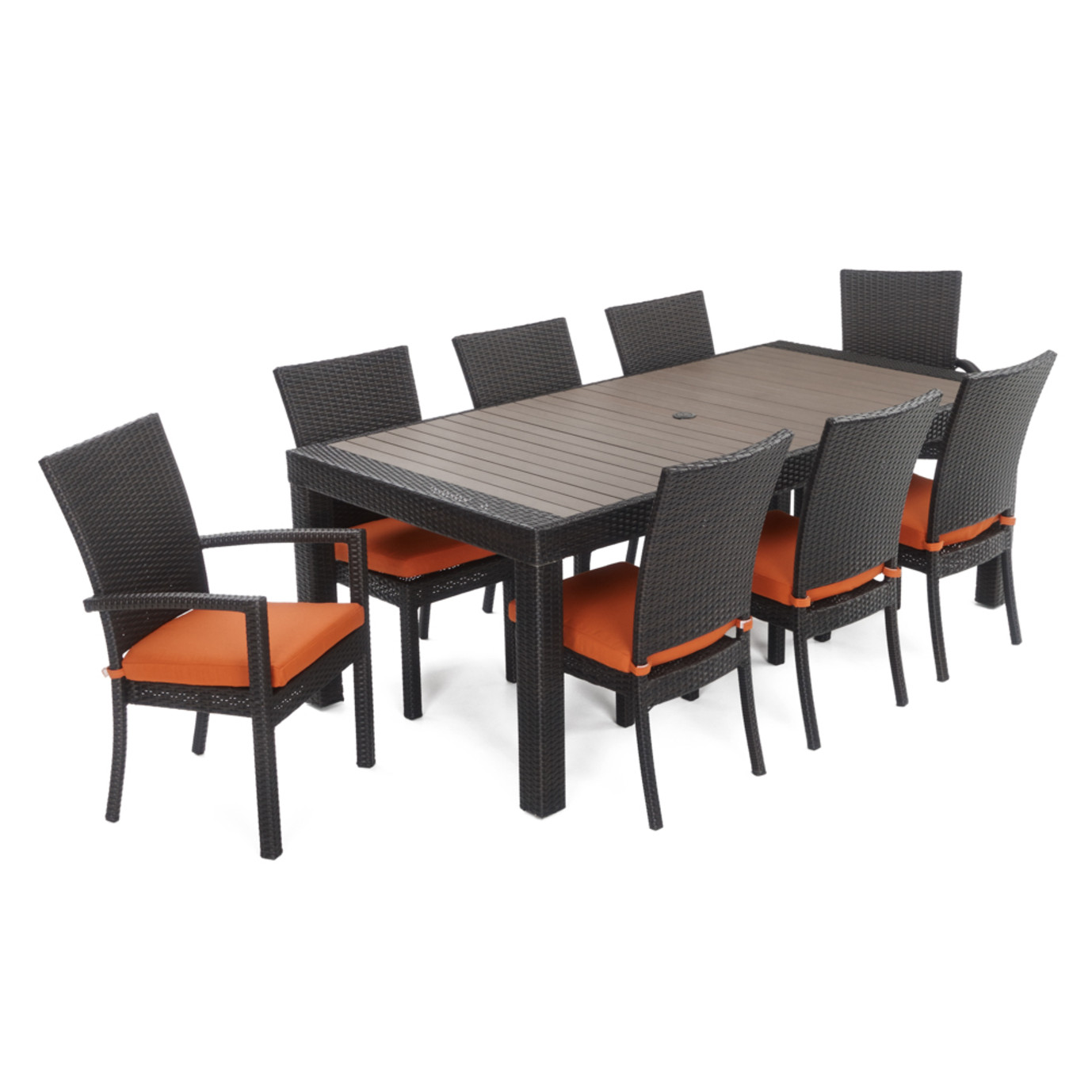 Deco™ 9pc Dining Set - Tikka Orange