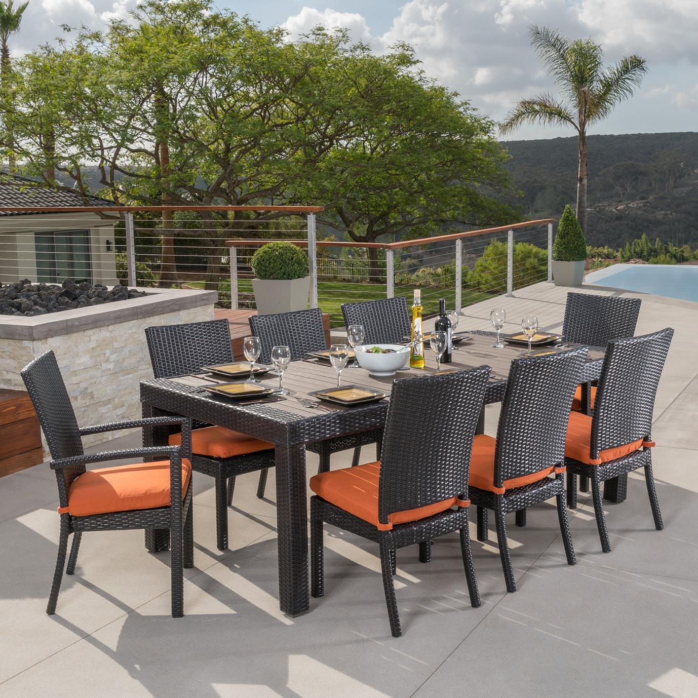 Deco™ 9pc Dining Set - Tikka Orange