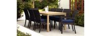 Deco™ Wood 9pc Dining Set - Navy Blue