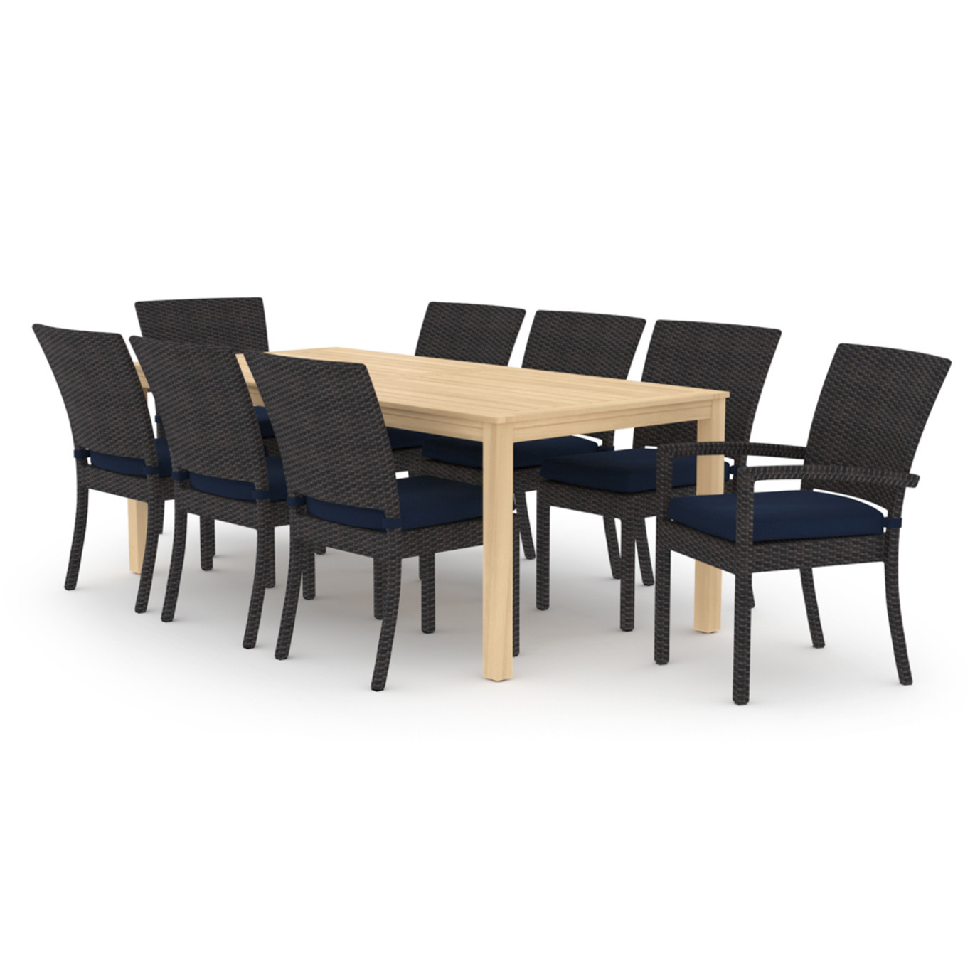 Deco™ Wood 9pc Dining Set - Navy Blue
