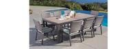 Milea™ 9 Piece Dining Set - Mist Blue