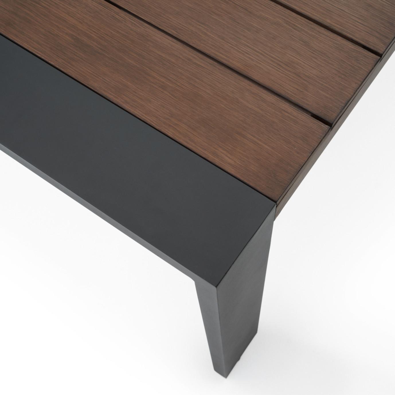 Milo™ Grey 9pc Dining Set - Charcoal Grey