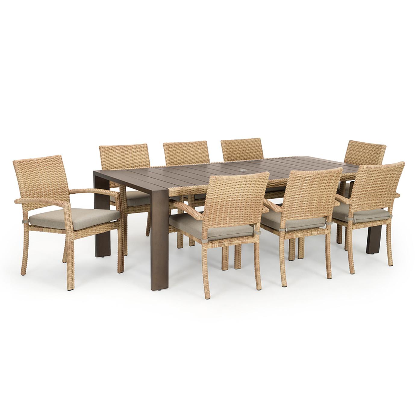 Portofino® Prestige 9pc Dining Set - Sand
