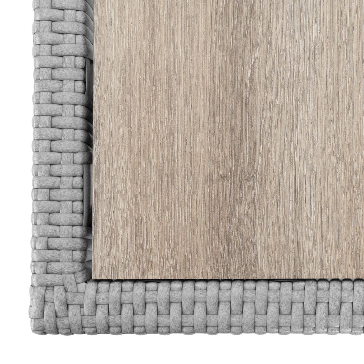 Portofino® Comfort Faux Wood Coffee Table - Grey
