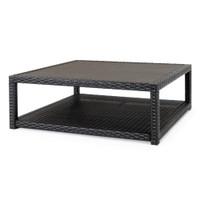 Portofino® Comfort Faux Wood Conversation Table - Espresso