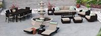 Portofino® Comfort 19 Piece Motion Wood Estate Set - Taupe Mist