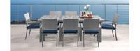 Portofino® Comfort 9 Piece Wood Dining Set - Laguna Blue
