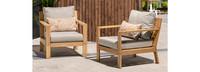 Capri™ 2 Piece Club Chair Furniture Cover Set