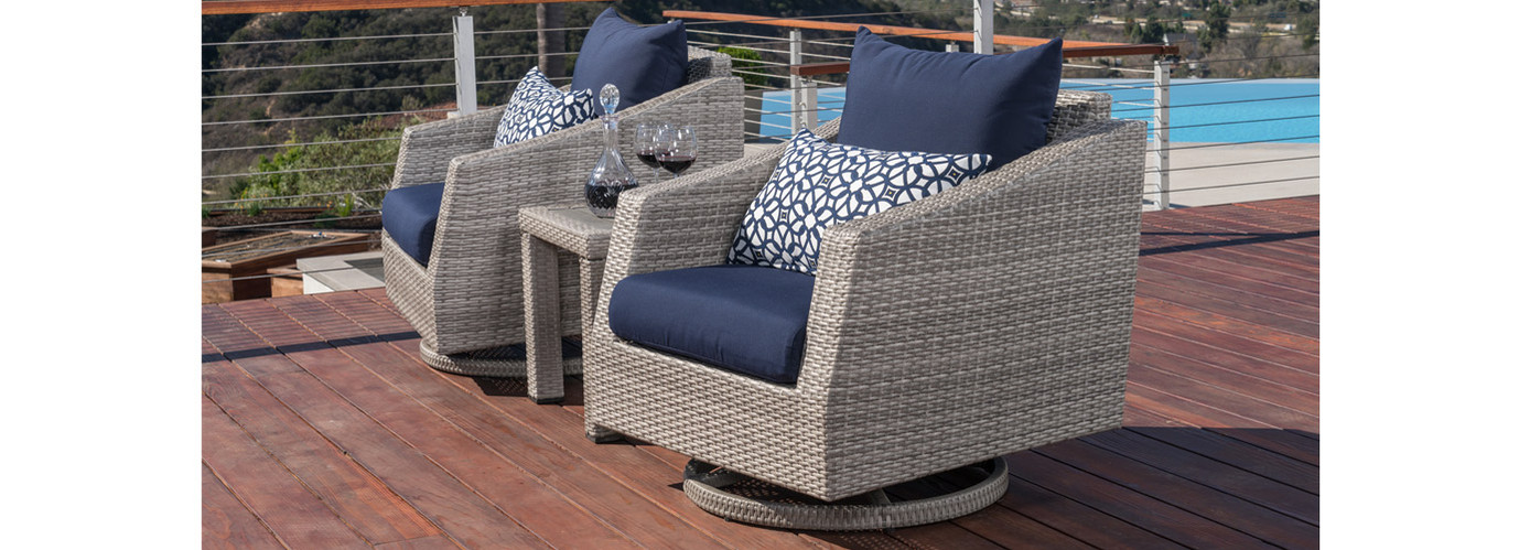 Cannes™ 3 Piece Club Chair Furniture Cover Set