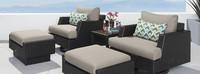 Portofino® Comfort 5 Piece Club Chair Furniture Cover Set
