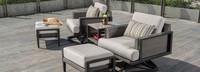 Vistano® 5 Piece Club Chair Furniture Cover Set