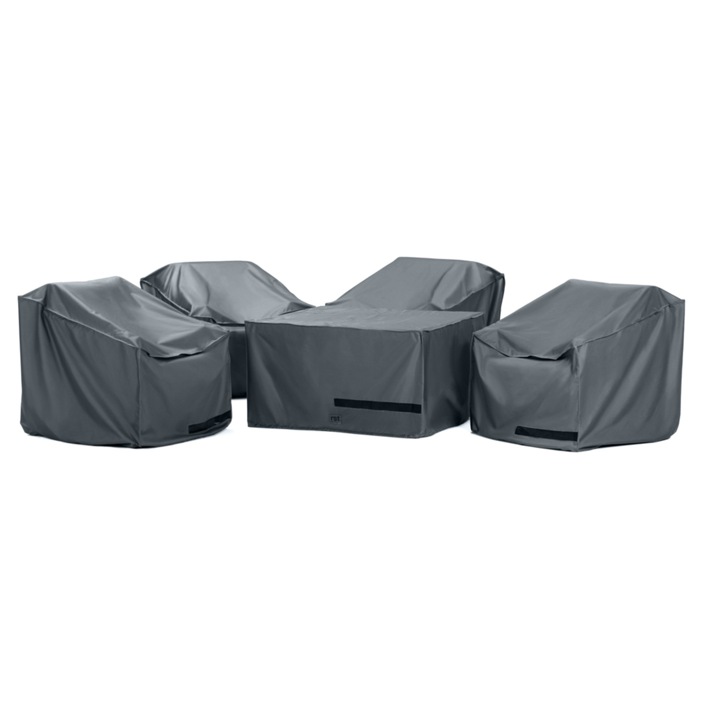 Cannes™ 5 Piece Fire Chat Furniture Cover Set