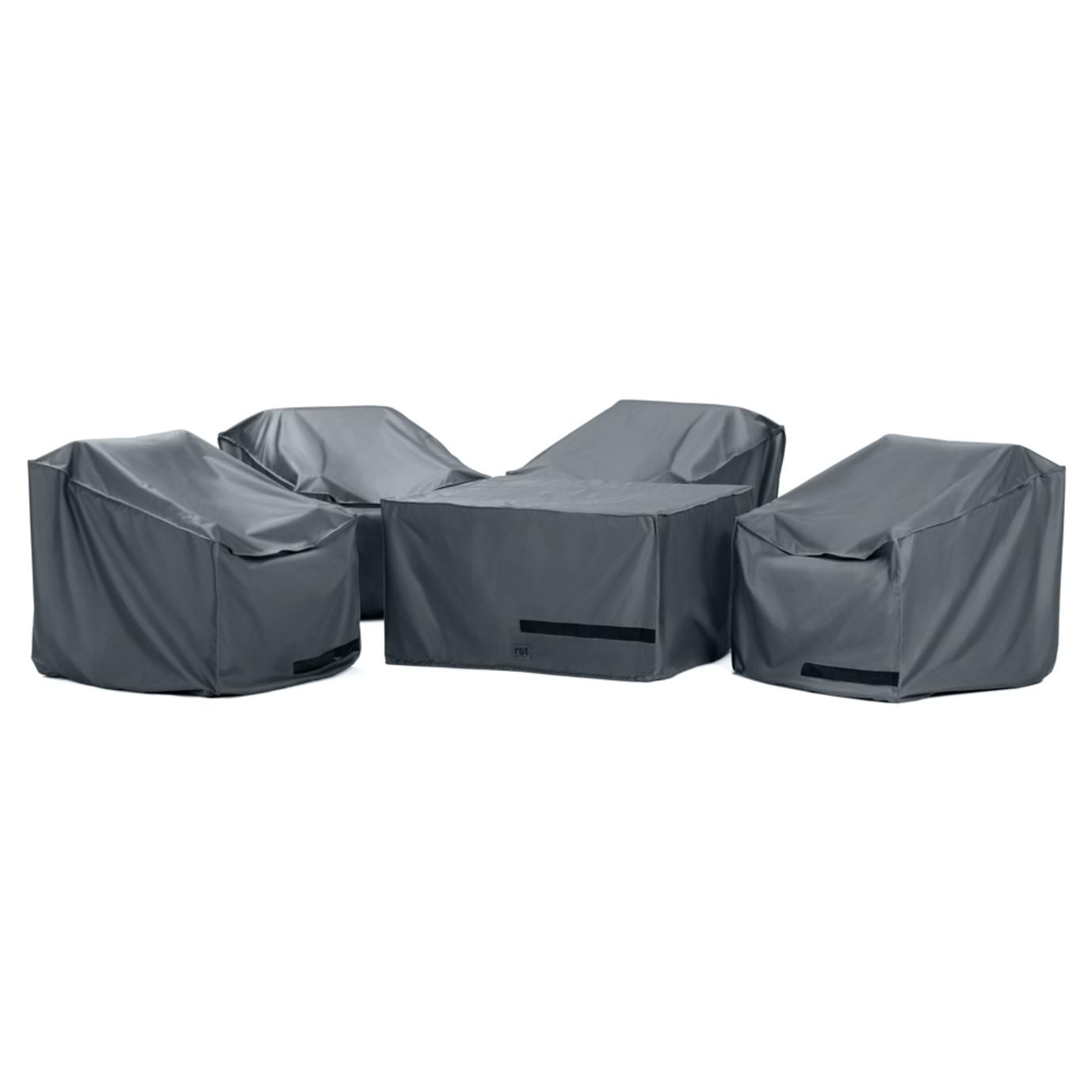 Portofino® Comfort 5 Piece Fire Chat Furniture Cover Set