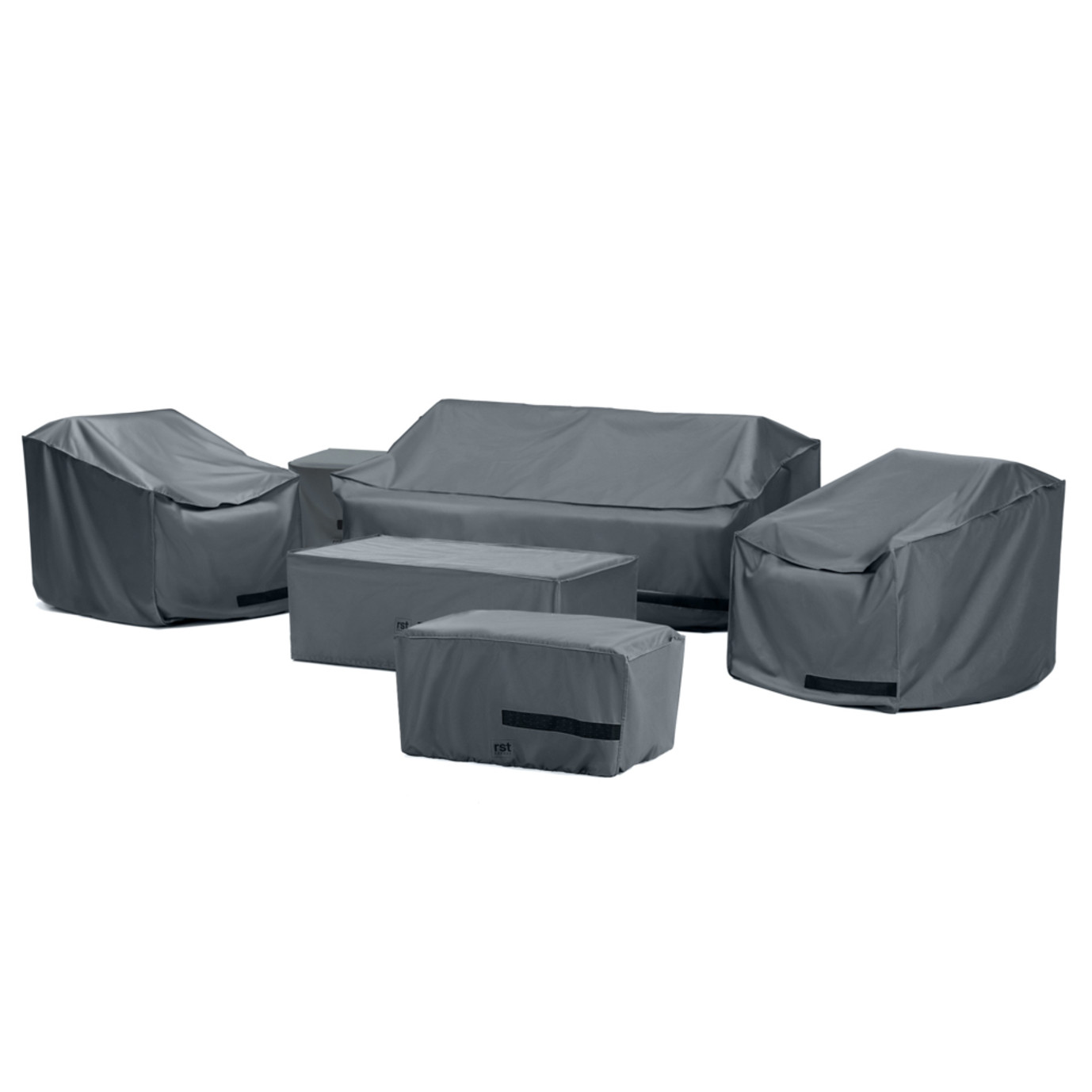 Deco™ 6 Piece Love and Club Seating Furniture Cover Set