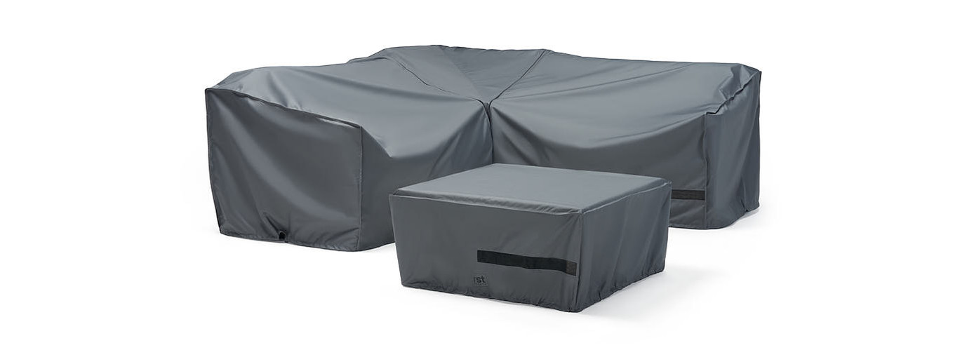 Deco™ 4 Piece Sectional and Table Furniture Cover Set