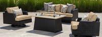 Portofino® Comfort 4 Piece Motion Fire Furniture Cover Set