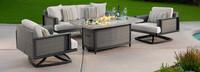 Vistano® 4 Piece Fire Conversation Seating Furniture Cover Set