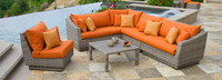Cannes™ 6 Piece Sectional and Table Furniture Cover Set