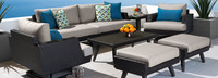 Portofino® Casual 7 Piece Deep Seating Furniture Cover Set