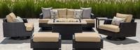Portofino® Comfort 7 Piece Club Fire Seating Furniture Cover Set