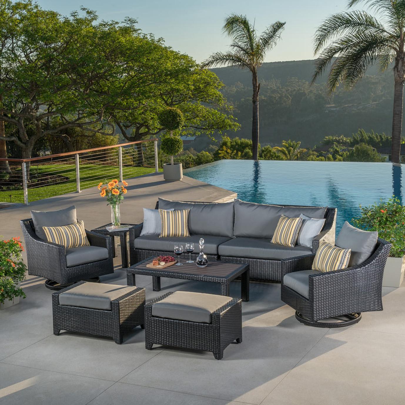 Deco™ 8 Piece Sofa & Club Chair Furniture Cover Set