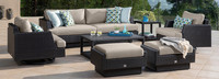 Portofino® Comfort 8 Piece Club Seating Furniture Cover Set