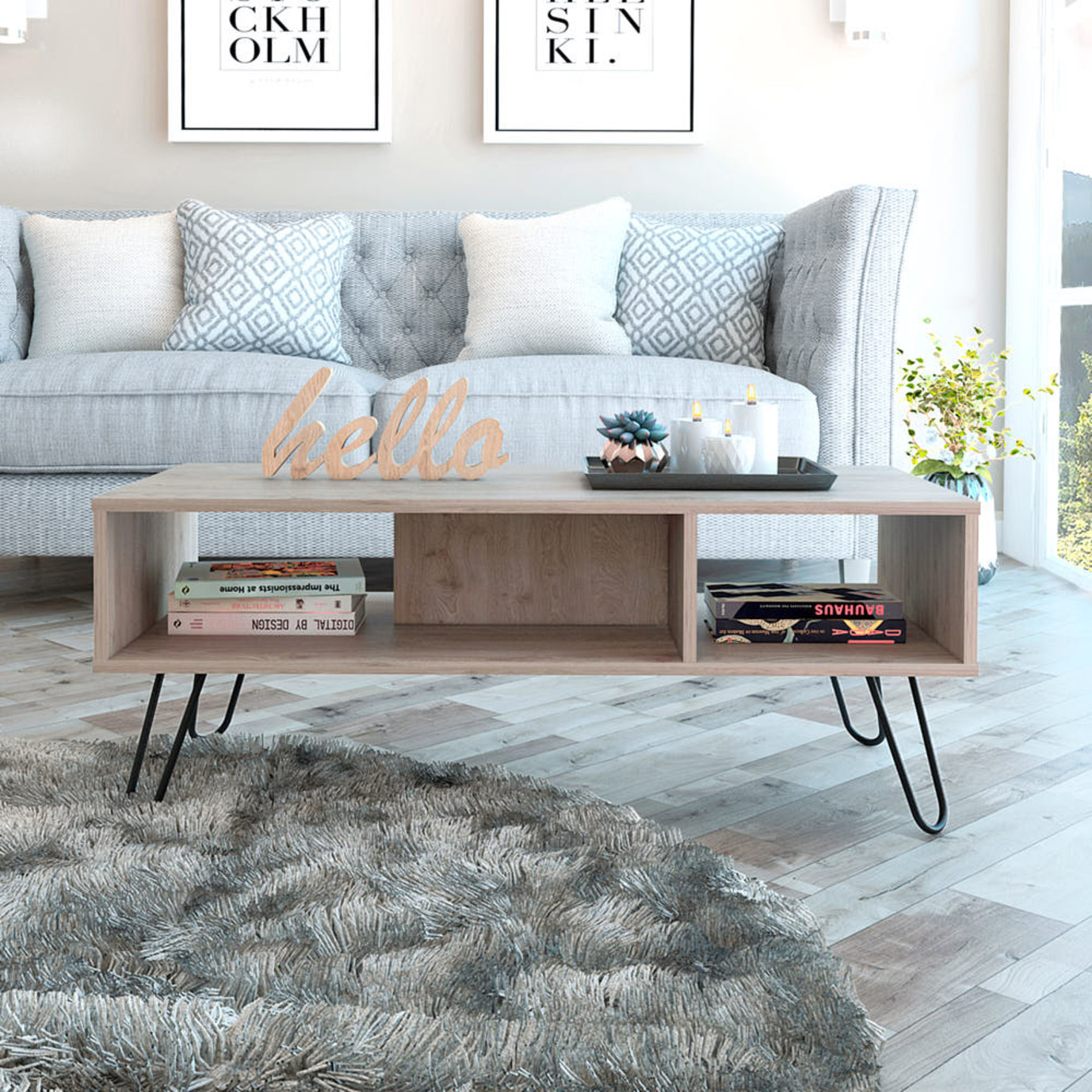 Aster Coffee Table - Ash