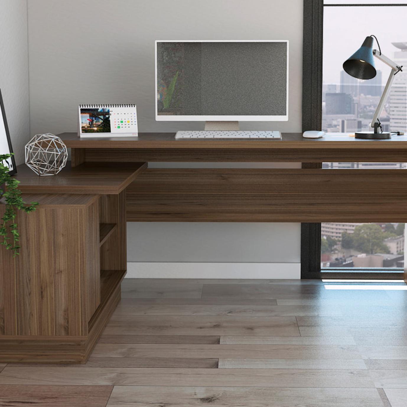 Emery L-Shaped Desk