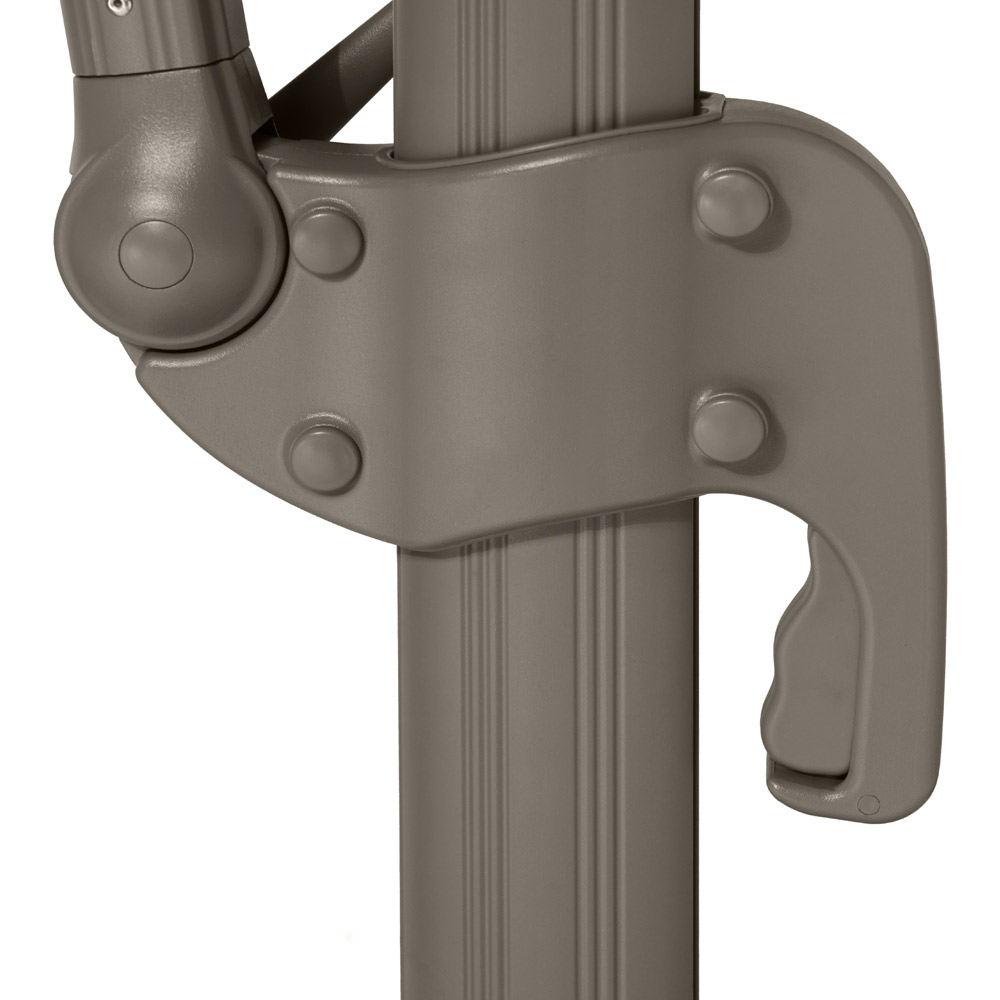 Portofino Umbrella Crank Handle - Taupe